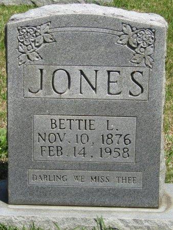 JONES, BETTIE LEE - Prentiss County, Mississippi | BETTIE LEE JONES - Mississippi Gravestone Photos