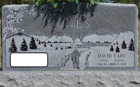 JONES, DAVID EARL - Prentiss County, Mississippi   DAVID EARL JONES - Mississippi Gravestone Photos