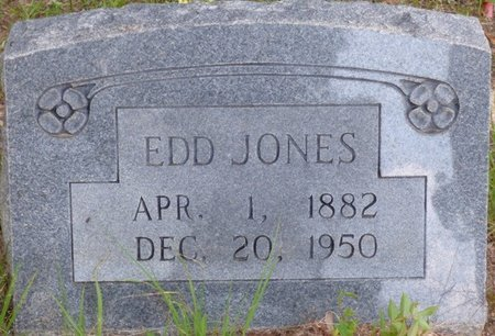 JONES, EDD - Prentiss County, Mississippi | EDD JONES - Mississippi Gravestone Photos