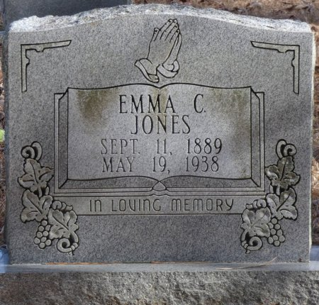 JONES, EMMA C - Prentiss County, Mississippi | EMMA C JONES - Mississippi Gravestone Photos
