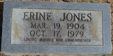 JONES, ERINE - Prentiss County, Mississippi   ERINE JONES - Mississippi Gravestone Photos