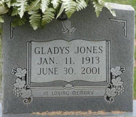 JONES, GLADYS V - Prentiss County, Mississippi | GLADYS V JONES - Mississippi Gravestone Photos