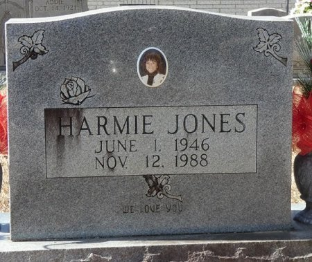 JONES, HARMIE - Prentiss County, Mississippi   HARMIE JONES - Mississippi Gravestone Photos