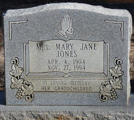 JONES, MARY JANE - Prentiss County, Mississippi | MARY JANE JONES - Mississippi Gravestone Photos