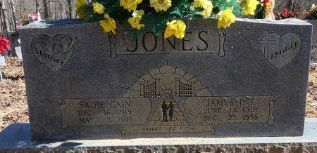 JONES, SADIE NAOMI - Prentiss County, Mississippi   SADIE NAOMI JONES - Mississippi Gravestone Photos