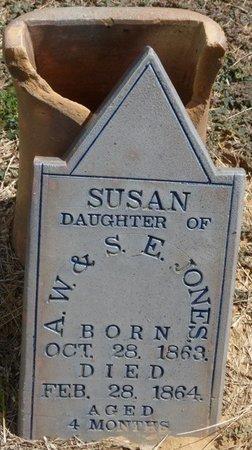 JONES, SUSAN - Prentiss County, Mississippi   SUSAN JONES - Mississippi Gravestone Photos