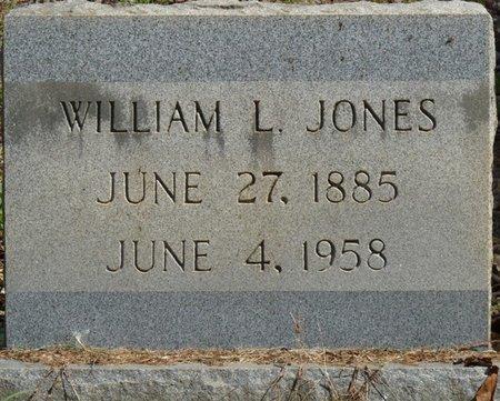 JONES, WILLIAM L - Prentiss County, Mississippi | WILLIAM L JONES - Mississippi Gravestone Photos