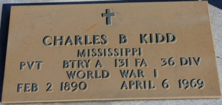 KIDD (VETERAN WWI), CHARLES BANKS (NEW) - Prentiss County, Mississippi | CHARLES BANKS (NEW) KIDD (VETERAN WWI) - Mississippi Gravestone Photos