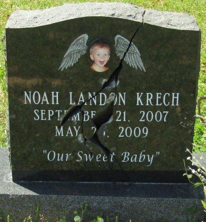 KRECH, NOAH LANDON - Prentiss County, Mississippi | NOAH LANDON KRECH - Mississippi Gravestone Photos