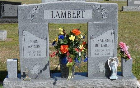 LAMBERT, GERALDINE - Prentiss County, Mississippi | GERALDINE LAMBERT - Mississippi Gravestone Photos