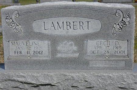 LAMBERT, CECIL DEAN - Prentiss County, Mississippi | CECIL DEAN LAMBERT - Mississippi Gravestone Photos