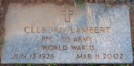"LAMBERT (VETERAN WWII), CLEBORN ""BUG"" - Prentiss County, Mississippi | CLEBORN ""BUG"" LAMBERT (VETERAN WWII) - Mississippi Gravestone Photos"
