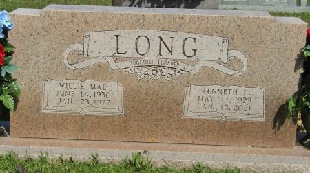 LONG, KENNETH LEE - Prentiss County, Mississippi | KENNETH LEE LONG - Mississippi Gravestone Photos
