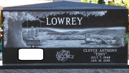 "LOWREY, CLOYCE ANTHONY ""TONY"" - Prentiss County, Mississippi   CLOYCE ANTHONY ""TONY"" LOWREY - Mississippi Gravestone Photos"