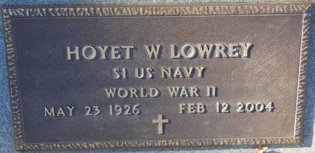 LOWREY (VETERAN WWII), HOYET WAYNE (NEW) - Prentiss County, Mississippi   HOYET WAYNE (NEW) LOWREY (VETERAN WWII) - Mississippi Gravestone Photos