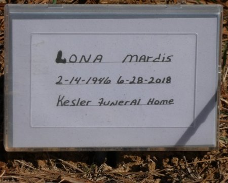 MARDIS, LONA - Prentiss County, Mississippi | LONA MARDIS - Mississippi Gravestone Photos