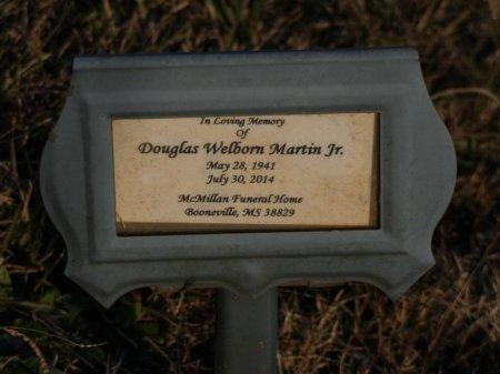 MARTIN, JR, DOUGLAS WELBORN - Prentiss County, Mississippi | DOUGLAS WELBORN MARTIN, JR - Mississippi Gravestone Photos