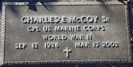 MCCOY, SR (VETERAN WWII), CHARLES EDWIN (NEW) - Prentiss County, Mississippi | CHARLES EDWIN (NEW) MCCOY, SR (VETERAN WWII) - Mississippi Gravestone Photos