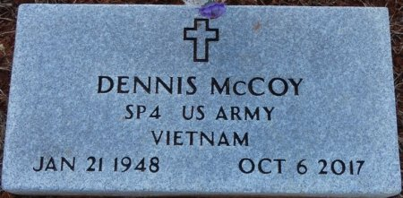 MCCOY (VETERAN VIET), DENNIS (NEW) - Prentiss County, Mississippi | DENNIS (NEW) MCCOY (VETERAN VIET) - Mississippi Gravestone Photos