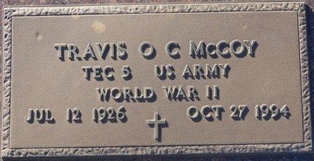 MCCOY (VETERAN WWII), TRAVIS O (NEW) - Prentiss County, Mississippi | TRAVIS O (NEW) MCCOY (VETERAN WWII) - Mississippi Gravestone Photos