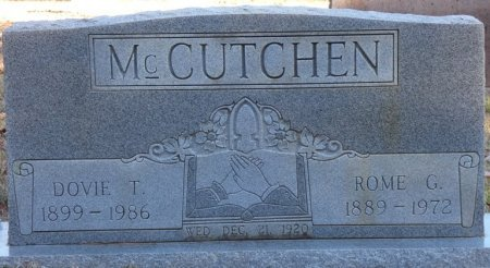 TENNISON MCCUTCHEN, DOVIE - Prentiss County, Mississippi | DOVIE TENNISON MCCUTCHEN - Mississippi Gravestone Photos