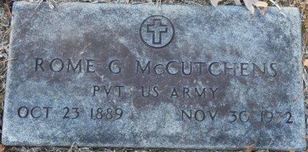 MCCUTCHEN (VETERAN), ROME G (NEW) - Prentiss County, Mississippi   ROME G (NEW) MCCUTCHEN (VETERAN) - Mississippi Gravestone Photos