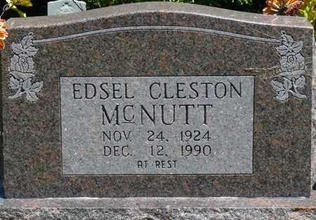 MCNUTT, EDSEL CLESTON - Prentiss County, Mississippi | EDSEL CLESTON MCNUTT - Mississippi Gravestone Photos