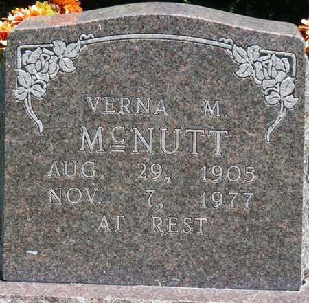 MCNUTT, VERNA M - Prentiss County, Mississippi | VERNA M MCNUTT - Mississippi Gravestone Photos