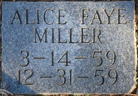 MILLER, ALICE FAY - Prentiss County, Mississippi | ALICE FAY MILLER - Mississippi Gravestone Photos