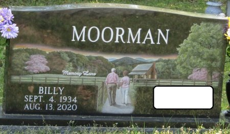 MOORMAN, BILLY RAY - Prentiss County, Mississippi   BILLY RAY MOORMAN - Mississippi Gravestone Photos