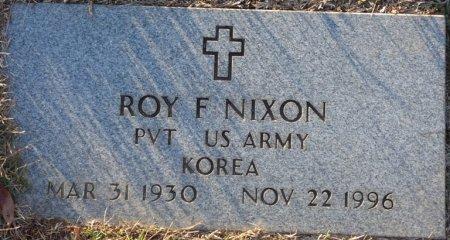 NIXON (VETERAN KOR), ROY F (NEW) - Prentiss County, Mississippi | ROY F (NEW) NIXON (VETERAN KOR) - Mississippi Gravestone Photos