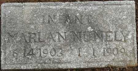 NUNELY, MARLAN - Prentiss County, Mississippi | MARLAN NUNELY - Mississippi Gravestone Photos