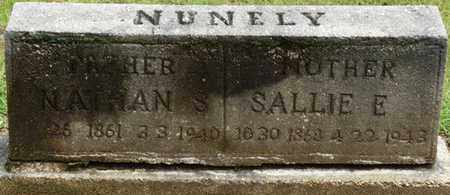 "NUNELY, SARAH ELIZABETH ""SALLIE"" - Prentiss County, Mississippi   SARAH ELIZABETH ""SALLIE"" NUNELY - Mississippi Gravestone Photos"