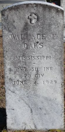OAKS (VETERAN), WALLACE FRANKLIN (NEW) - Prentiss County, Mississippi | WALLACE FRANKLIN (NEW) OAKS (VETERAN) - Mississippi Gravestone Photos