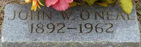 O'NEAL, JOHN W - Prentiss County, Mississippi | JOHN W O'NEAL - Mississippi Gravestone Photos