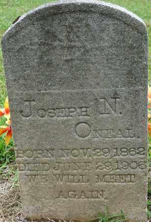 O'NEAL, JOSEPH N - Prentiss County, Mississippi   JOSEPH N O'NEAL - Mississippi Gravestone Photos