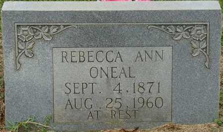 O'NEAL, REBECCA ANN - Prentiss County, Mississippi | REBECCA ANN O'NEAL - Mississippi Gravestone Photos