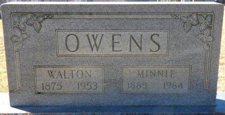 NIXON OWENS, MINNIE BELLE - Prentiss County, Mississippi | MINNIE BELLE NIXON OWENS - Mississippi Gravestone Photos