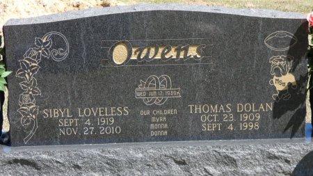 OWENS, THOMAS DOLAN - Prentiss County, Mississippi | THOMAS DOLAN OWENS - Mississippi Gravestone Photos