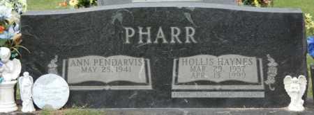 PHARR, HOLLIS HAYNES - Prentiss County, Mississippi   HOLLIS HAYNES PHARR - Mississippi Gravestone Photos