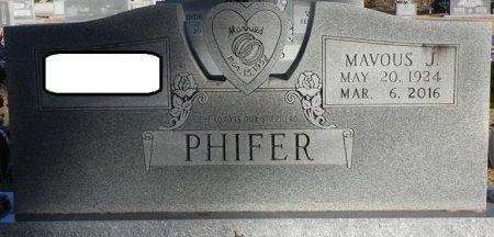 PHIFER, JAMES MAVOUS - Prentiss County, Mississippi | JAMES MAVOUS PHIFER - Mississippi Gravestone Photos