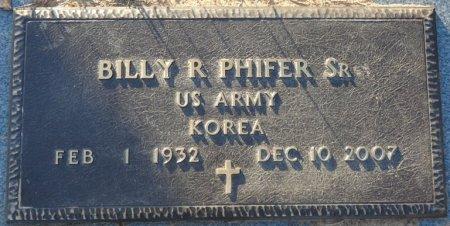 PHIFER, SR (VETERAN KOR), BILLY RAY (NEW) - Prentiss County, Mississippi | BILLY RAY (NEW) PHIFER, SR (VETERAN KOR) - Mississippi Gravestone Photos