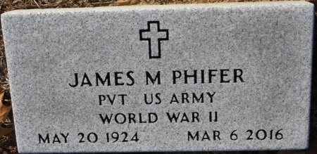 PHIFER (VETERAN WWII), JAMES MAVOUS (NEW) - Prentiss County, Mississippi   JAMES MAVOUS (NEW) PHIFER (VETERAN WWII) - Mississippi Gravestone Photos