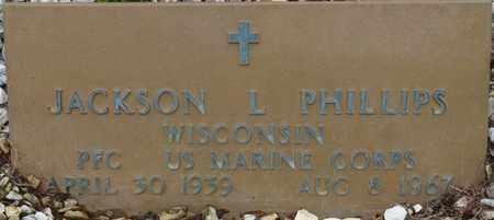 PHILLIPS (VETERAN), JACKSON L - Prentiss County, Mississippi | JACKSON L PHILLIPS (VETERAN) - Mississippi Gravestone Photos
