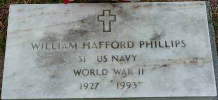 PHILLIPS (VETERAN WWII), WILLIAM HAFFORD - Prentiss County, Mississippi | WILLIAM HAFFORD PHILLIPS (VETERAN WWII) - Mississippi Gravestone Photos
