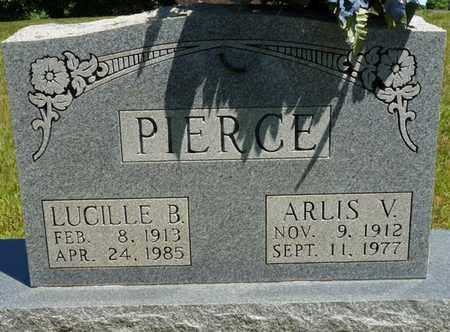 PIERCE, LUCILLE B - Prentiss County, Mississippi | LUCILLE B PIERCE - Mississippi Gravestone Photos