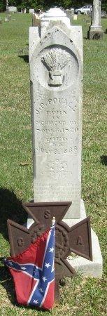 POVALL, JOHN P - Prentiss County, Mississippi   JOHN P POVALL - Mississippi Gravestone Photos