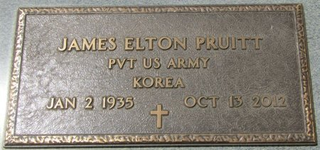 PRUITT (VETERAN KOR), JAMES ELTON (NEW) - Prentiss County, Mississippi   JAMES ELTON (NEW) PRUITT (VETERAN KOR) - Mississippi Gravestone Photos
