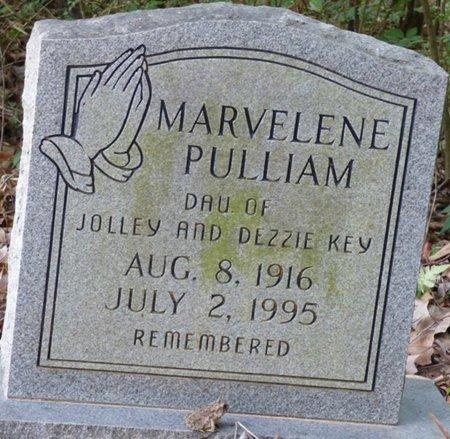 PULLIAM, MARVELENE - Prentiss County, Mississippi | MARVELENE PULLIAM - Mississippi Gravestone Photos