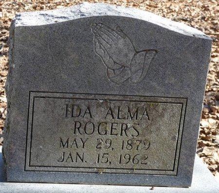 ROGERS, IDA ALMA - Prentiss County, Mississippi | IDA ALMA ROGERS - Mississippi Gravestone Photos